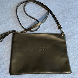 Australian leather slimline bag